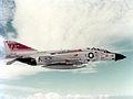 F-4J Phantom II fo VF-31 in flight c1978.jpg