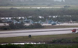 Naval air station - Flight line at NAS Key West, 2007