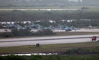 Naval air station - Flight line at NAS Key West, 2007