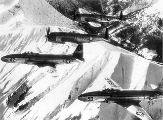 Tactical Air Command - F-80s and F-47s of the 36th Fighter and 86th Composite Groups over Germany, 1948.