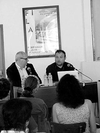Festival international du livre d'art et du film - Philippe Régnier and Miquel Barceló - FILAF 2012