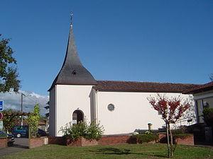 Vielle-Saint-Girons - Image: FR 40 Vielle St Girons eglisa St Joan de Vièla