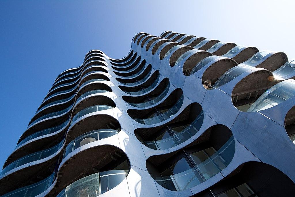 Architecture moderne avec le Metropolis à Copenhague - Photo de Stig Nygaard