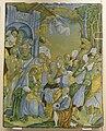 Faenza, placca con adorazione dei magi, 1527.JPG