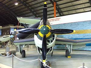 Fleet Air Arm Museum (Australia) - The museum's Fairey Gannet