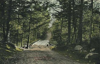 Jackson, New Hampshire - Fairview Bridge in 1912