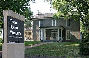 The Farm House (Knapp–Wilson House) - Farm House Museum