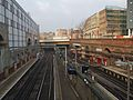 Farringdon station high northbound.JPG
