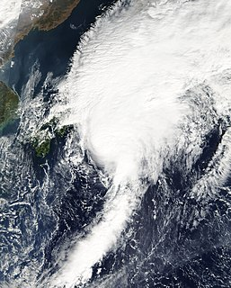 Tropical Storm Faxai (2007) Pacific severe tropical storm in 2007