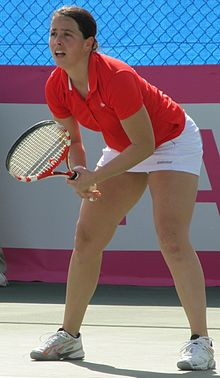 Fed Cup Group I 2012 Europe Africa day 1 Claudine Schaul 001.JPG