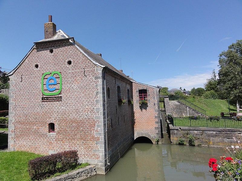 Felleries(Nord, Fr) moulin à eau, écomusée