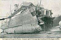 """Ferry """"Sussex"""" torpedoed 1916.jpg"""