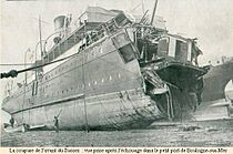 "Ferry ""Sussex"" torpedoed 1916.jpg"