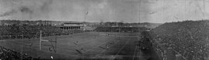 Regents Field - The stadium during a game in 1905