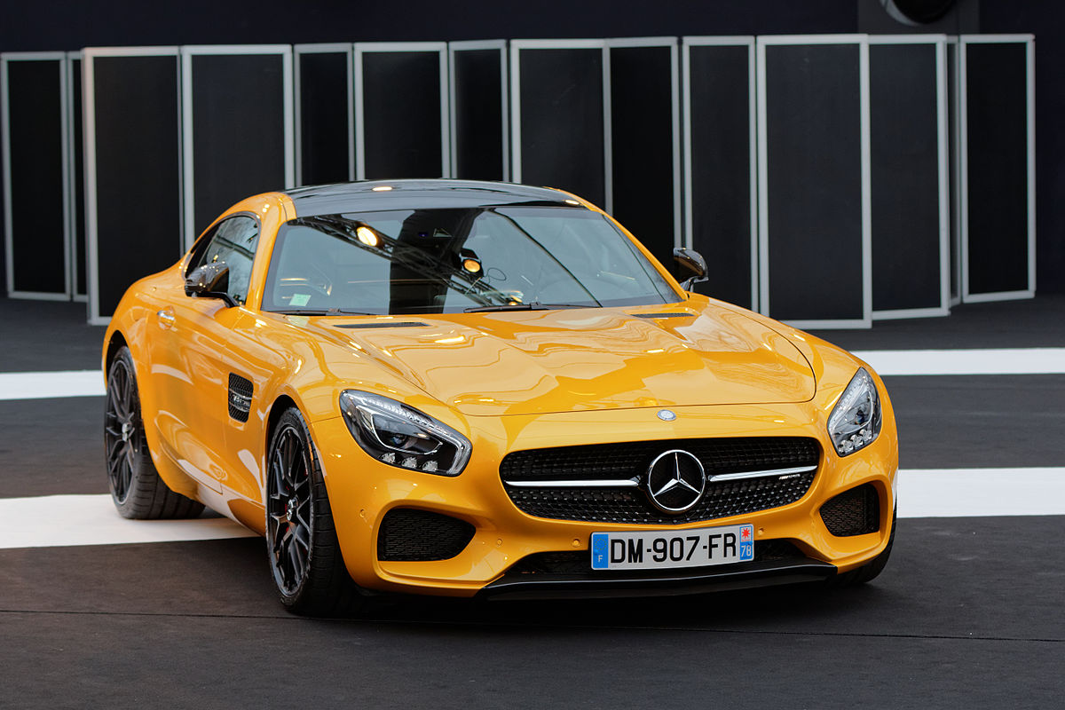Mercedes amg gt wikipedia for Mercedes benz sports cars