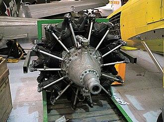 Ikarus Orkan - Fiat A.74 RIC38 engine installed in an Ikarus Orkan
