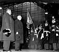Field Marshal Papagos, Prime Minister of Greece, arrives in Paris.jpg