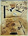 Filippo tommaso marinetti, parole in libertà (premier record), 1916 (coll. priv.).jpg