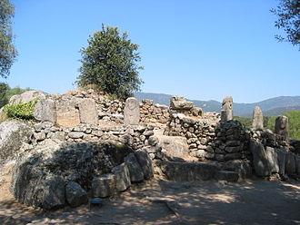 History of Corsica - Prehistoric structures at Filitosa