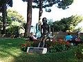 Fille Sur Une Chaise (Keld Moseholm Jorgensen 1981), Promenade Sainte - Barbe, Monaco - panoramio.jpg