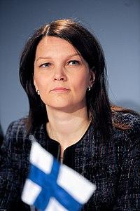 Finlands statsminister Mari Kiviniemi, Nordiska radets session 201.jpg