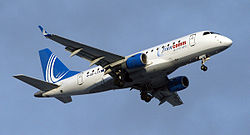 Embraer 170 der Finncomm Airlines