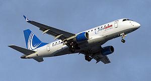 Finncomm Airlines - Finncomm Airlines Embraer 170 landing at Vilnius