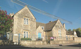 Finstock - Finstock Church of England Primary School, built in 1860