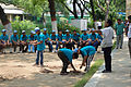 Fire-making - Survival Programme - Summer Camp - Nisana Foundation - Sibpur BE College Model High School - Howrah 2013-06-09 9672.JPG