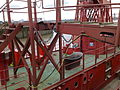 Fireboat in London, UK, with what appears to be a bathtub on its deck....jpg