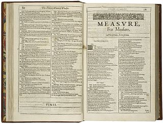 <i>Measure for Measure</i> play by Shakespeare