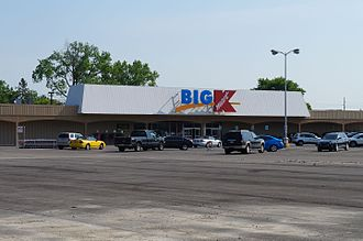 Kmart - Garden City Kmart, which closed in 2017, pictured in 2016