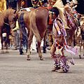 First Nations boy in the Calgary Stampede Parade (28324787705).jpg