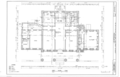 First floor plan - Courthouse, Staten Island, Richmond (subdivision), Richmond County, NY HABS NY-6322 (sheet 2 of 10).png