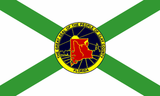 Clay County, Florida - Image: Flag of Clay County, Florida