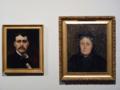 Flavien-Louis Peslin - Autoportrait de l'artiste et Portrait de la mère de l'artiste.png