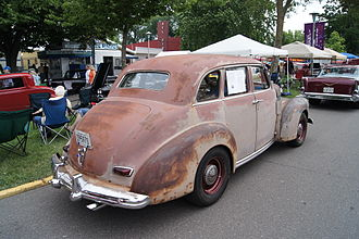 Studebaker Champion - 1946 Skyway 4-door sedan