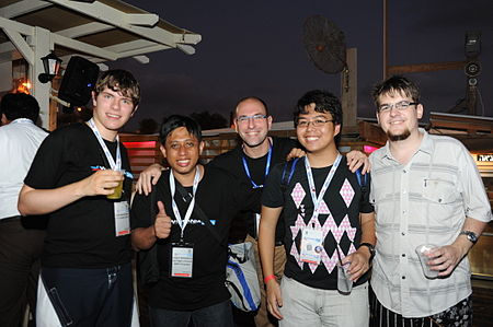 Flickr - Wikimedia Israel - Wikimania 2011 - Beach party (94).jpg