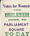 Flier for a suffragette demonstration.jpg