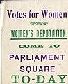Flier for a suffragette demonstration.jpg