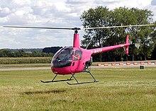 Un elicottero Robinson R22 Beta