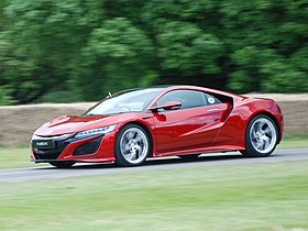 Honda NSX (second generation) - Wikipedia