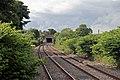 Footbridge north of Gwersyllt railway station (geograph 4024796).jpg