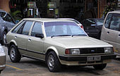 Ford Laser (first generation) (front), Serdang.jpg
