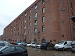 Former Warehouse On North Side Of Stanley Dock Titanic Hotel Stanley Dock Regent Road Liverpool Merseyside England UK - View 2.jpg