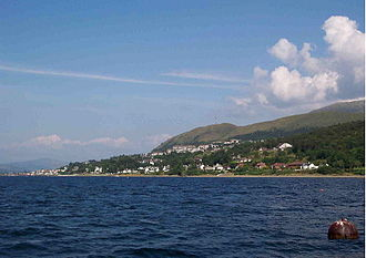 Fort William, Highland - Fort William from Loch Linnhe.
