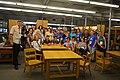 Foto grupal en Biblioteca McGill - WikiConference North America 2017.jpg