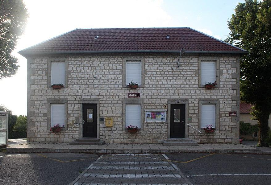 Mairie de Foucherans (Doubs).