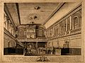 Foundling Hospital, Holborn, London; interior of the chapel. Wellcome V0014732.jpg