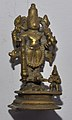 Four-armed Vishnu - Bronze - Circa 19th Century CE - ACCN 49-3515 - Government Museum - Mathura 2013-02-24 6606.JPG